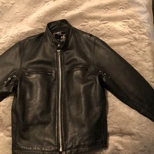 Men's Mega Force leather jacket (Wilson's Leather)